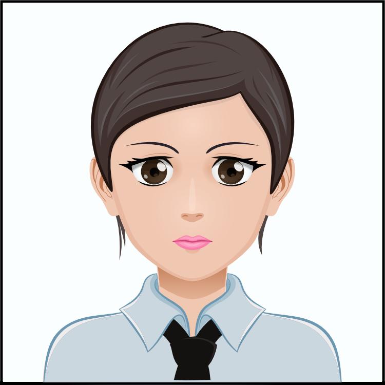 顔写真規格サンプル